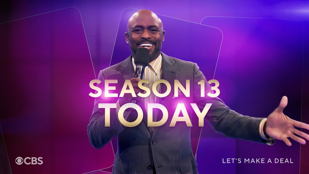 We're BACK, baby! Join us today for a brand spankin' new season of Let's Make A Deal!