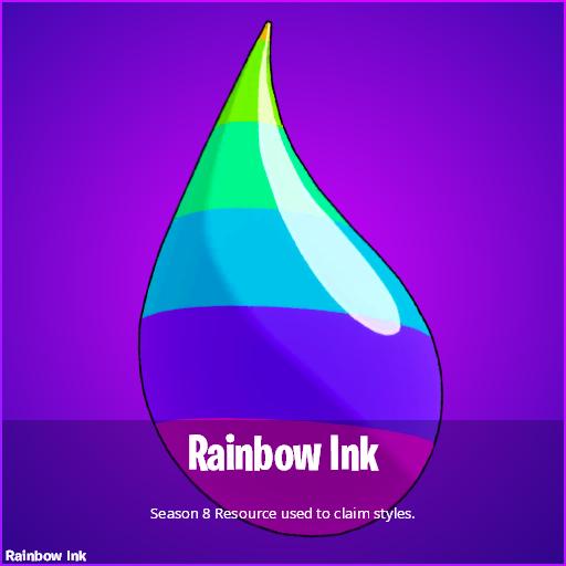 Rainbow Ink in Fortnite Season 8