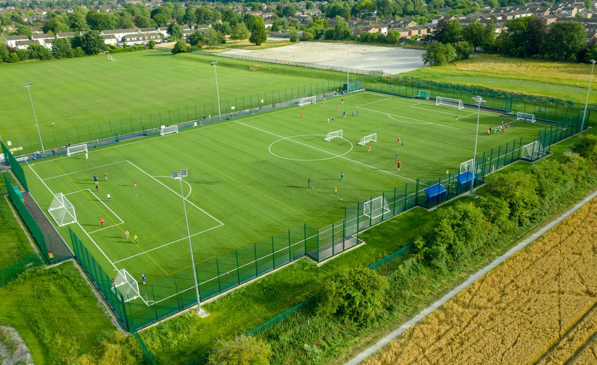Looking great and a pleasure for @SISPitches to deliver this fantastic facility 🟣🟢🟣 https://t.co/7Jbch897ef