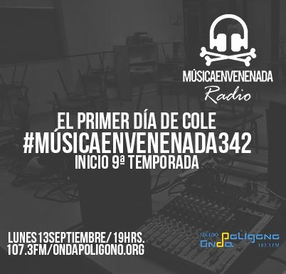 Lo estamos deseando: #NuevaTemporada de @musicenvenenada.  Esta tarde 👇