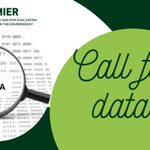 Image for the Tweet beginning: We have launched a #CallForData