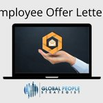 Image for the Tweet beginning: Sending out an offer letter