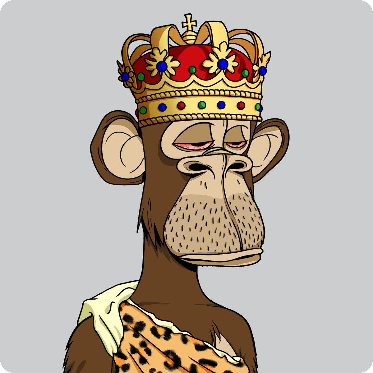 Please welcome the Caveman King to the family @BoredApeYC @boredapebot #ApeKing #CavemanKing