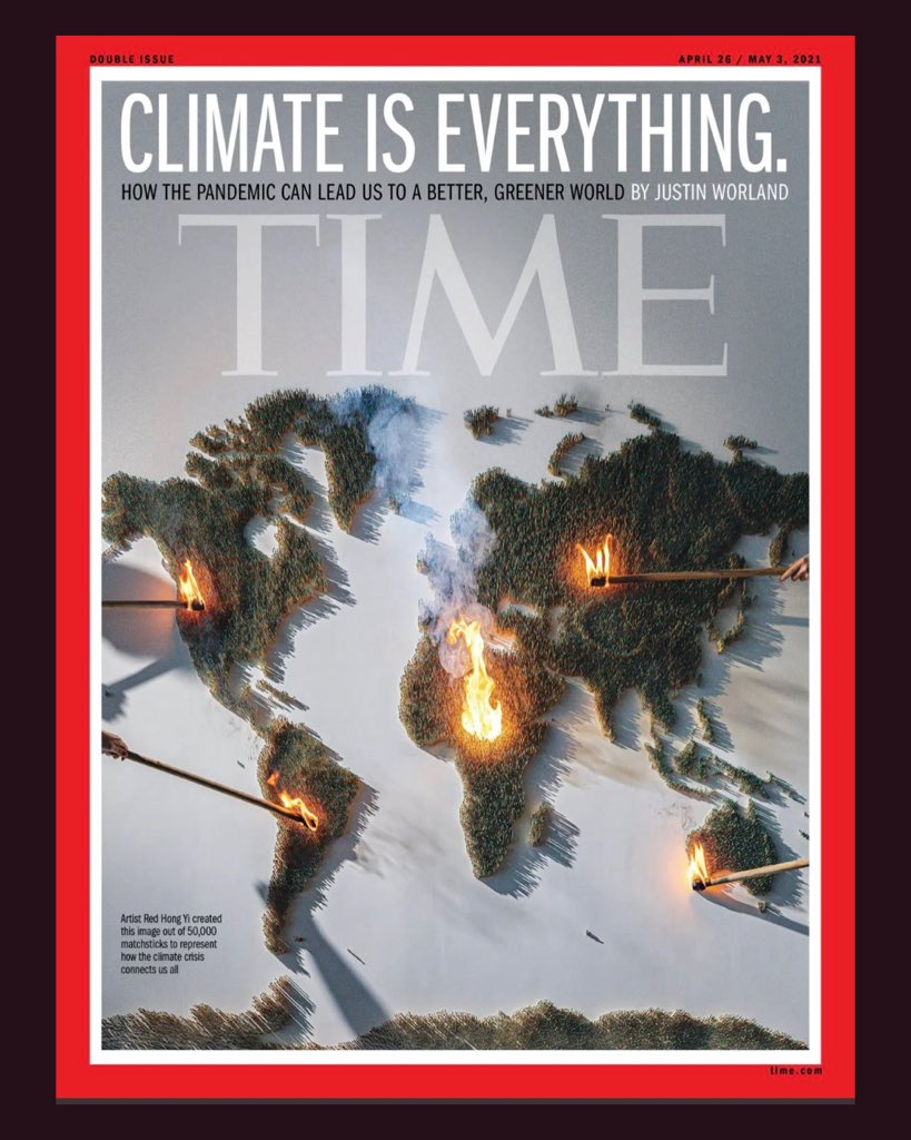 Es ist auch eine Art von 'False Balance', wenn im #Triell genau so lang oder kurz über die Klimakrise gesprochen wird, wie über jedes andere der Themen. Die #Klimakrise ist eine existenzielle Bedrohung für unsere Zivilisation. Existenziell und unumkehrbar. #btw21 letzte Chance.
