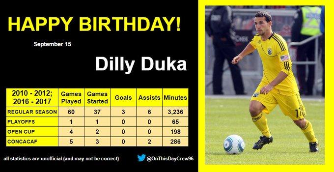 9-15 Happy Birthday, Dilly Duka!