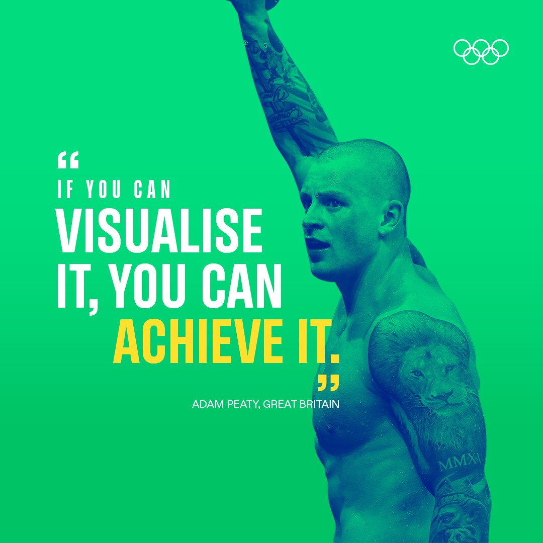 The mindset of a champion.💪 #MondayMotivation  @adam_peaty | @TeamGB