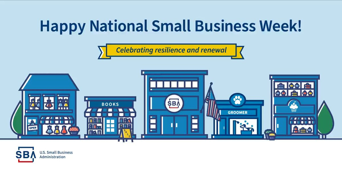 Happy Small Business Week! @ShelondaStokes is testifying about the importance of small & minority business assistance before the subcommittee tomorrow. Follow the summit using the links, below.