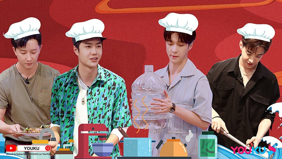 #StreetDanceofChinaS4 #LetsChatS2 Attention, it's time to serve! The theme of this ep is cooking. Four captains show their cooking skills and present their own specialties! Does everyone have a secret task to complete? Click 🔗youtu.be/wFofyXu6cFA to join this dinner!