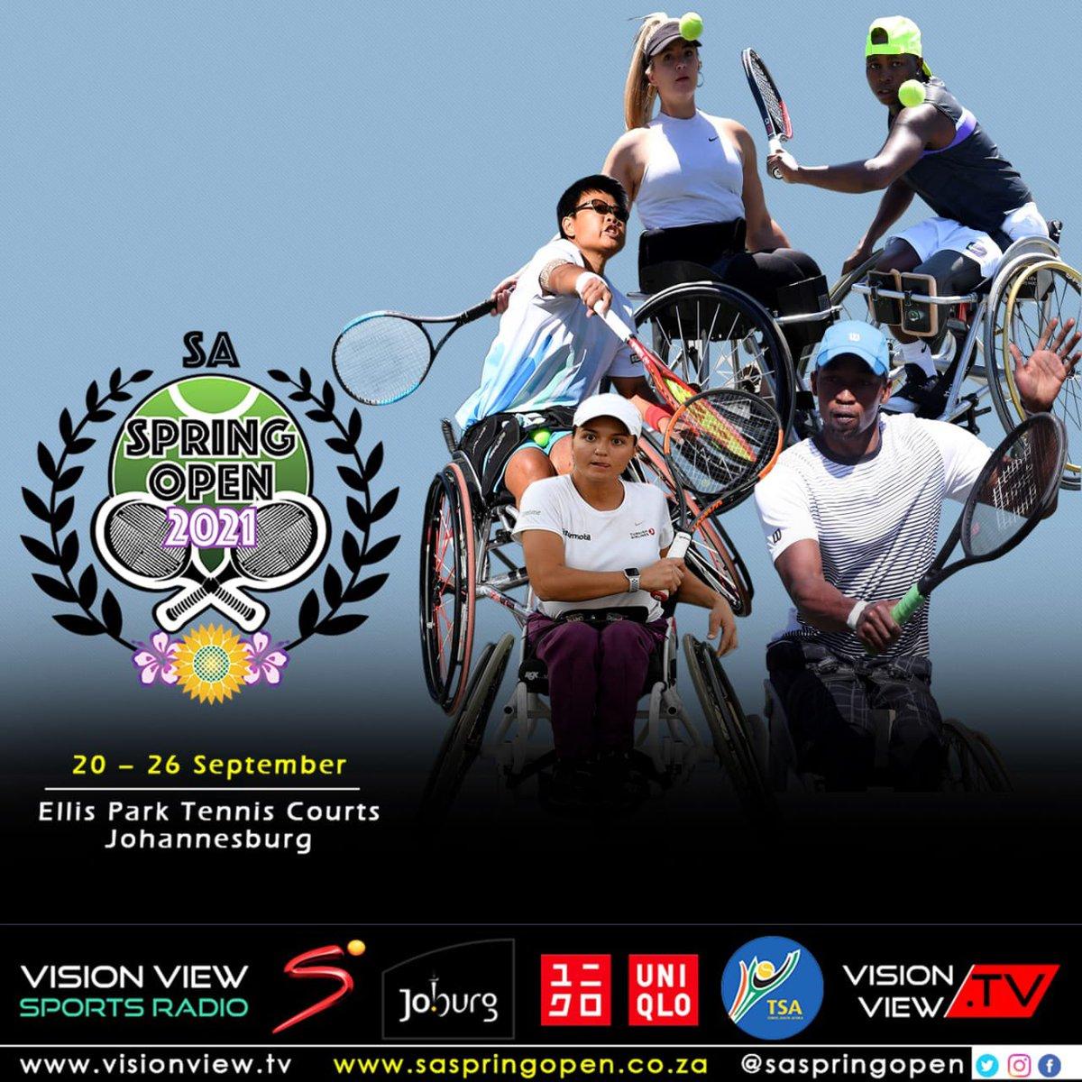 A few of the Wheelchair Tennis Grade II stars that will be taking part in this year's #SASpringOpen 🎾🌸 ▫️@KGmontjane1 ▫️@mventerofficial ▫️@Evansmaripa #SASO21 #SpringtimeTennis #Tennis4All