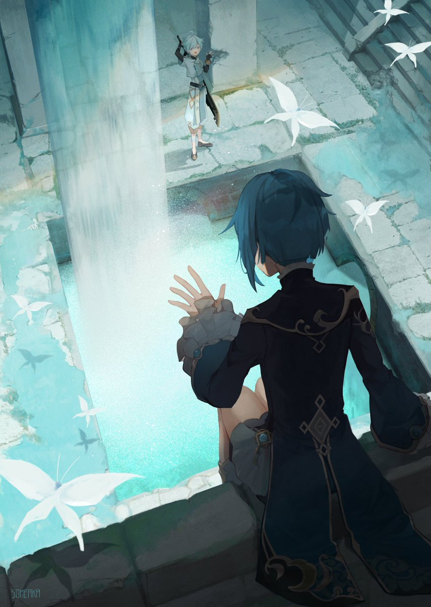秘密の遺跡  #原神  #GenshinImpact