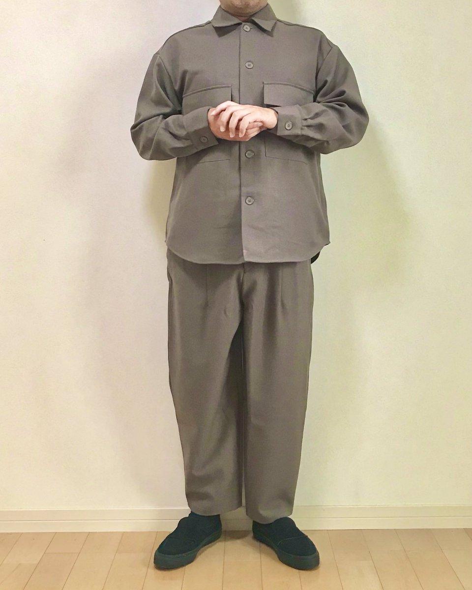 ジーユーのCPOジャケットとバルーンパンツのセットアップを着てみたけど北の将軍様になった。