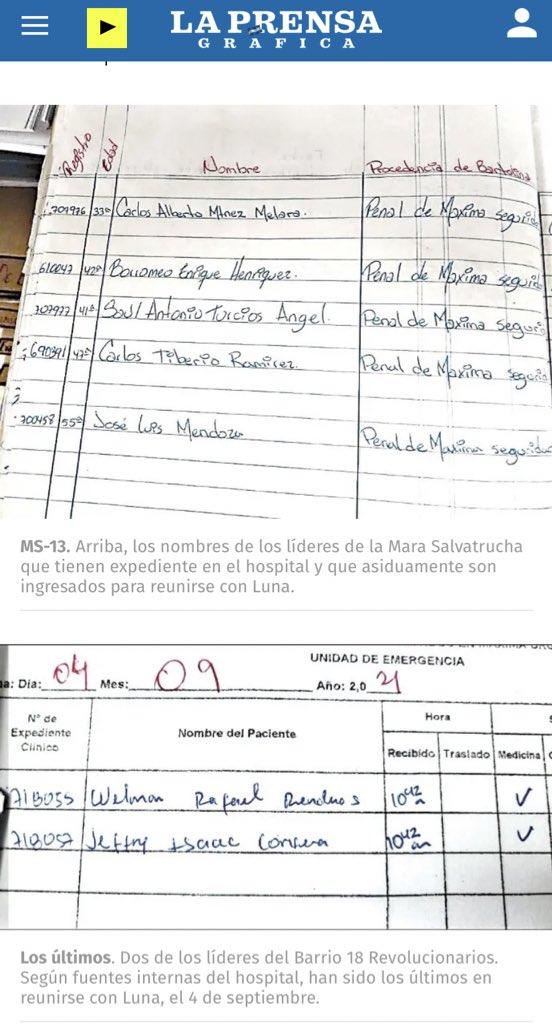 La Prensa Gráfica presenta más pruebas de que Gobierno negocia con pandillas