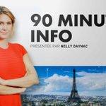 Image for the Tweet beginning: 🔴#90MinutesInfo À 15H30 sur @CNEWS  @NDaynac