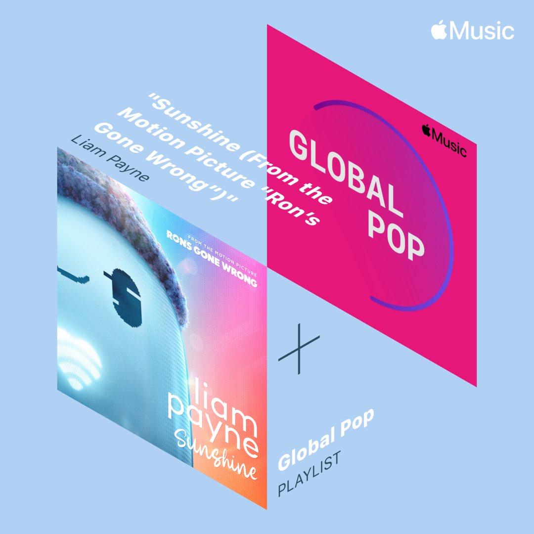 You can now listen to #Sunshine on @AppleMusic's Global Pop playlist ☀️ https://t.co/ILKVhDr6Da https://t.co/hd7yUKdXfr