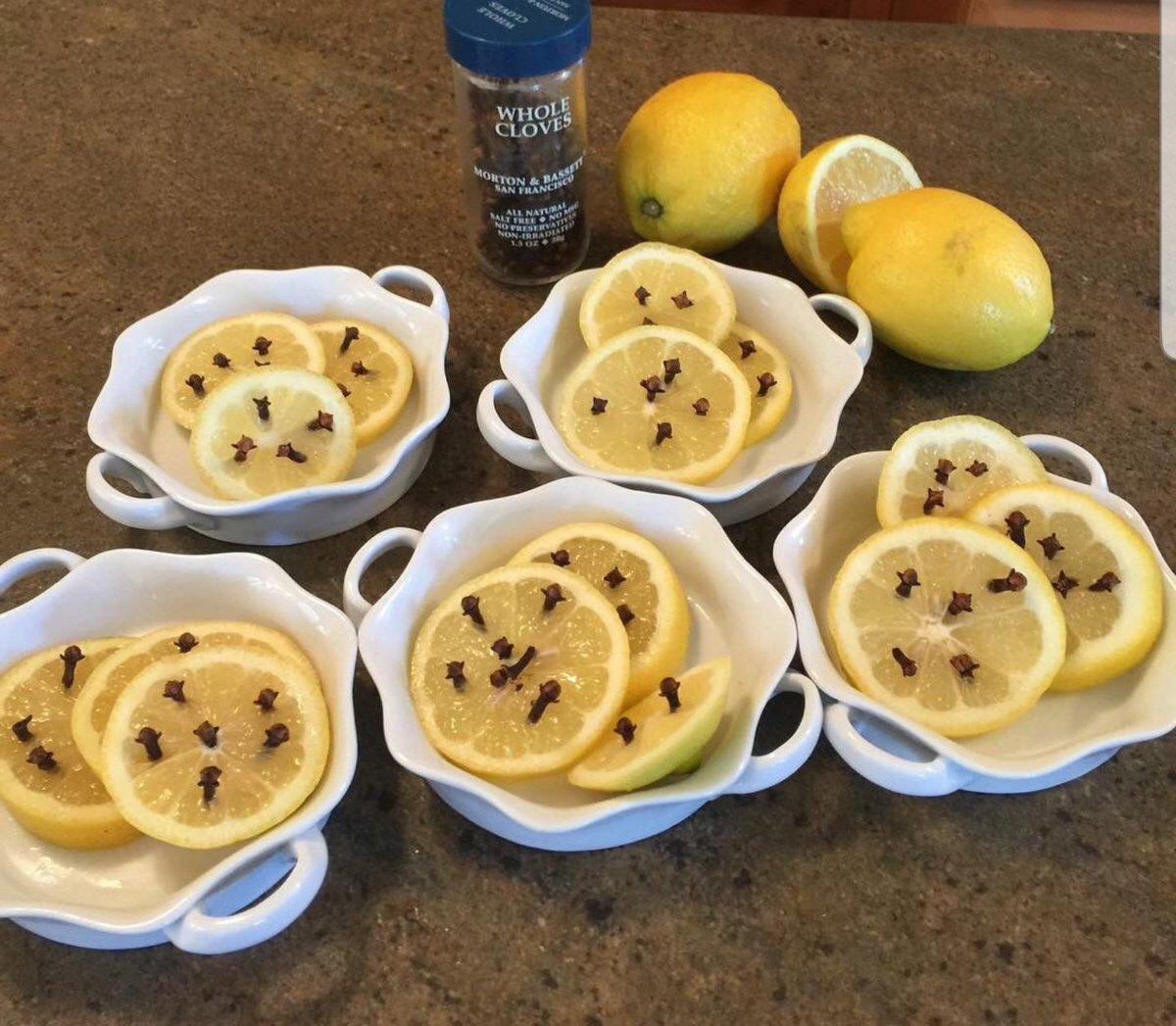 Cloves in a lemon slice will keep yellow jackets away.#thenine@fox2