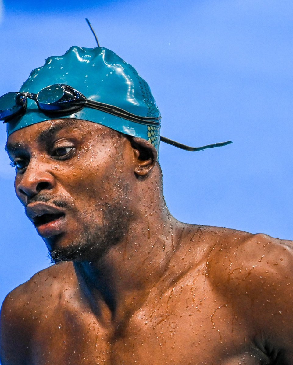 #CANOC🌴 Para-Athlete from 🇻🇨 making history in 🏊♂️ at the @Paralympics   @SVGNatOlympicCo @SVG_UN