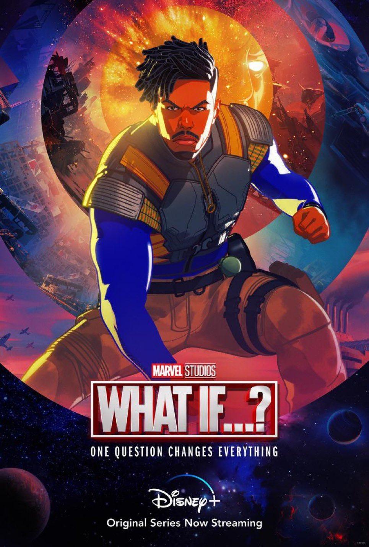 What If...? | Marvel divulga pôster de Killmonger