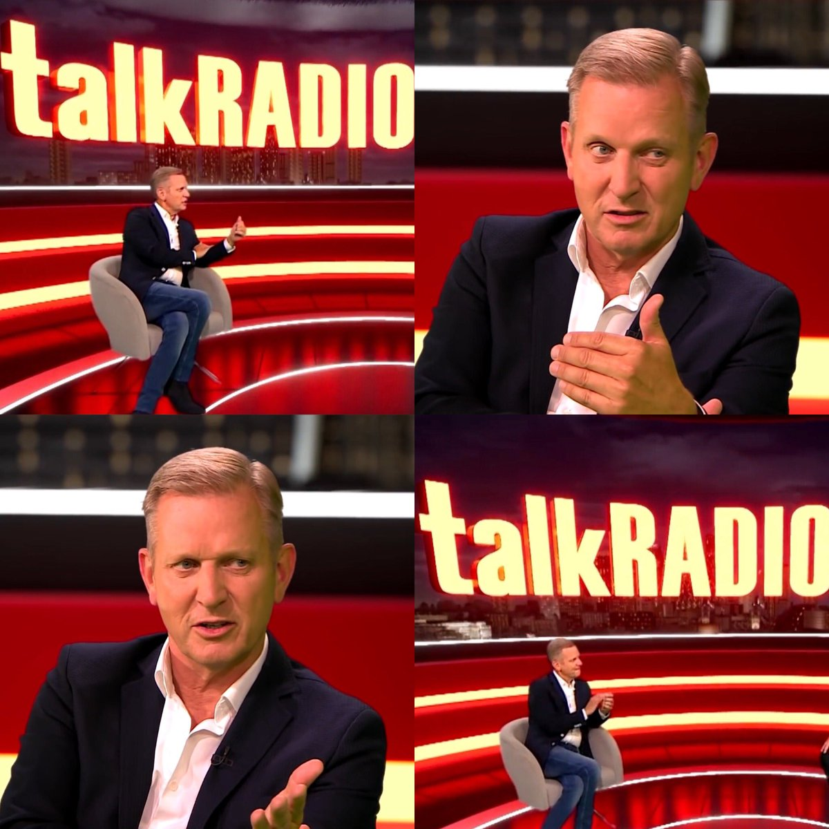 Good luck to Jeremy Kyle on his debut show on @TalkRadioUK_ at 4pm today! 📻 Good to have you back! #jeremykyle #talkradio #drivetime #backforgood #thecangroup #takentmanagement #radio #tv #press #social