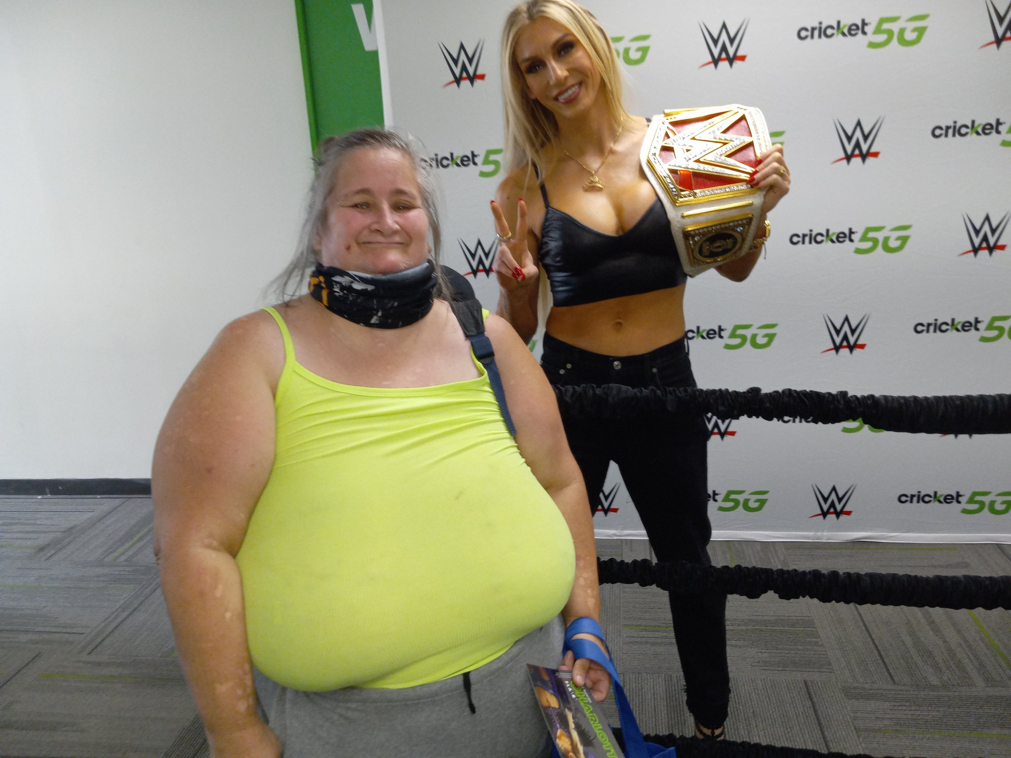 Charlotte Flair Shares Stunning Photos From WWE Raw Attendance 146