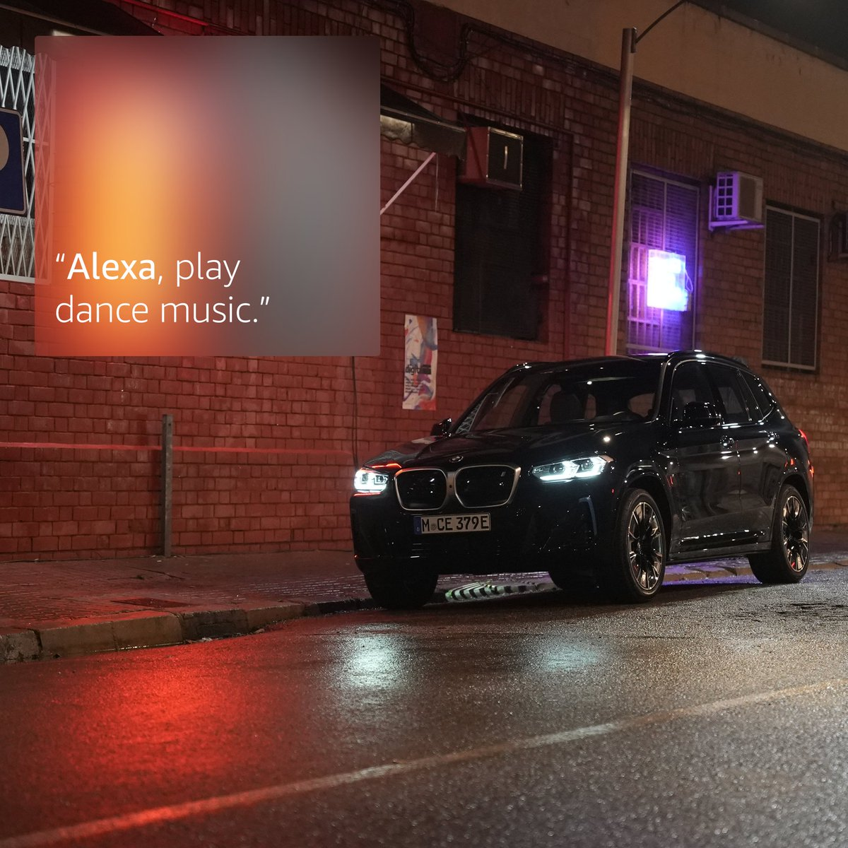 Find me in the #BMW X3, you can ask for jokes and fun facts on your way to the party and be a chit-chat champion.