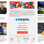 Image for the Tweet beginning: Request your free #FESPA2021 ticket