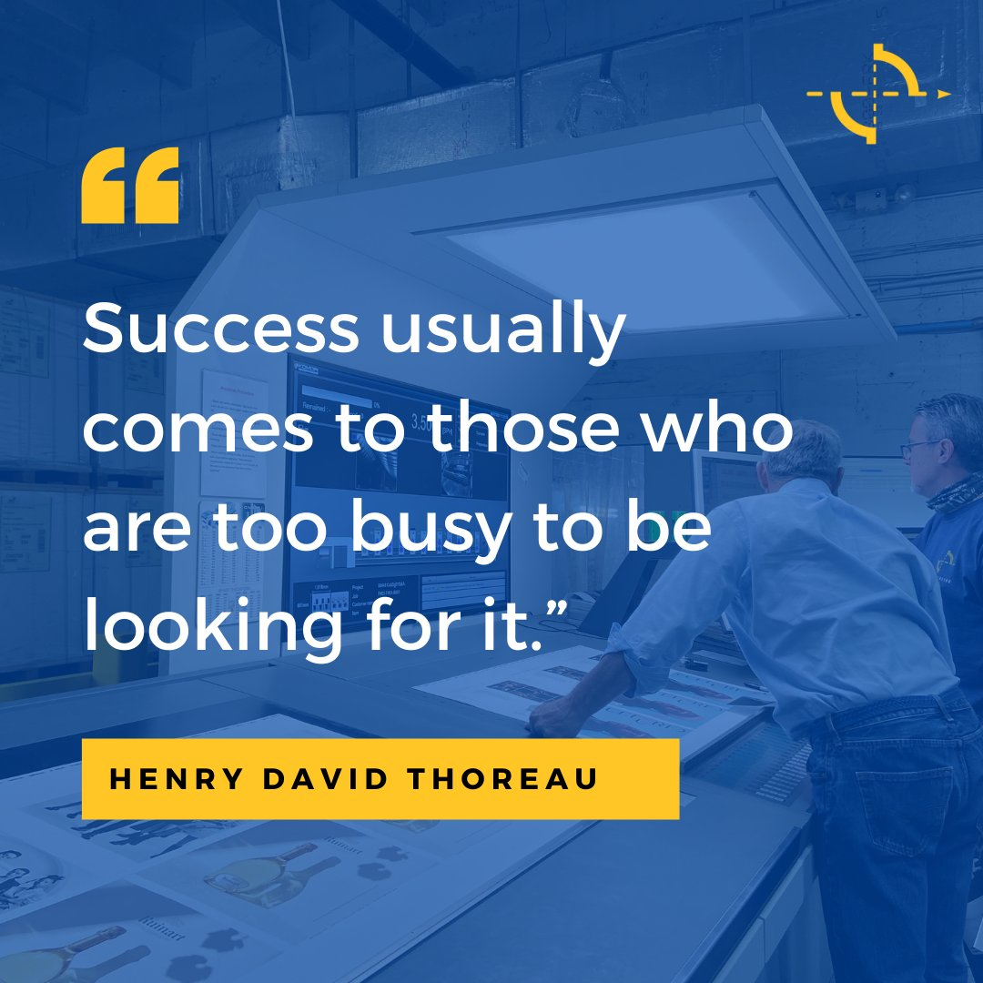 An important quote to consider as we start off our week! Thanks for sharing, @SoloPrinting!