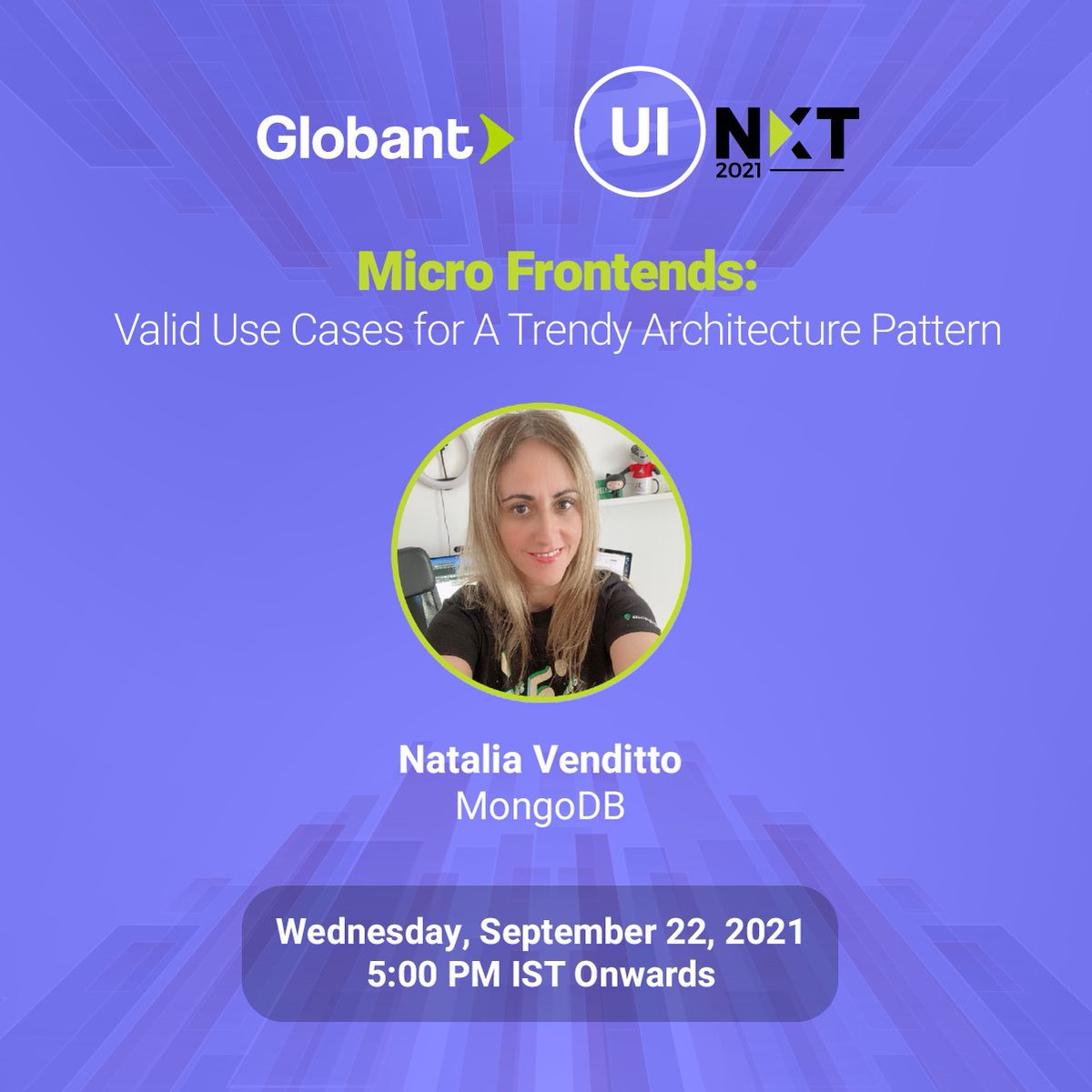 Micro Frontends: Valid Use Cases for A Trendy Architecture Pattern #uinxt #microfrontends #globant #uitrends #MongoDB