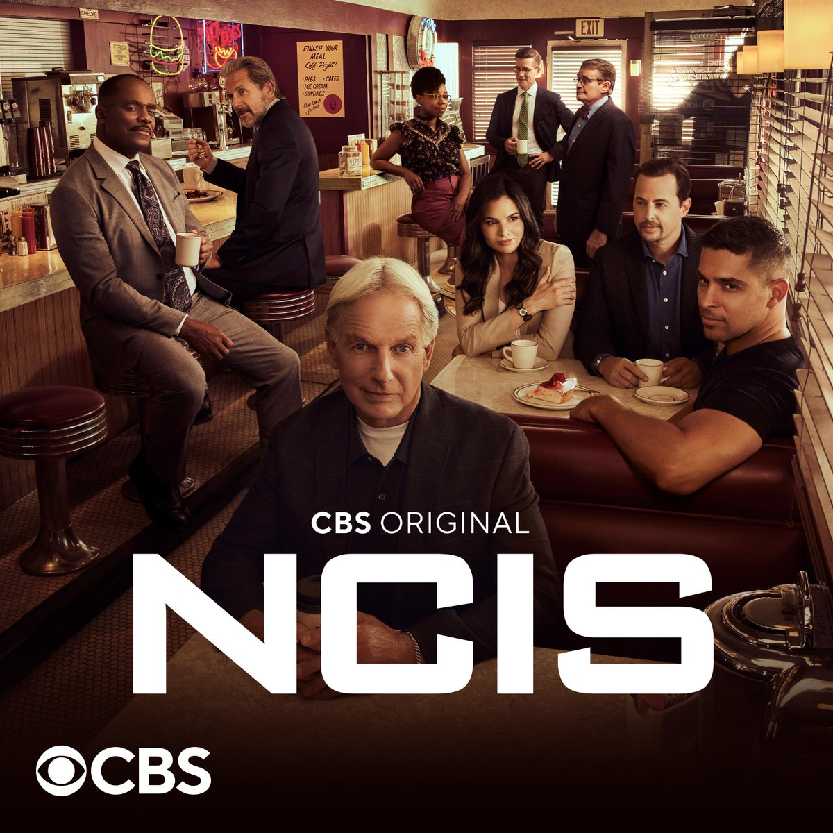 We think it's about time this diner had a name. Grab a cup of coffee at Elaine's Diner. ☕ #NCIS