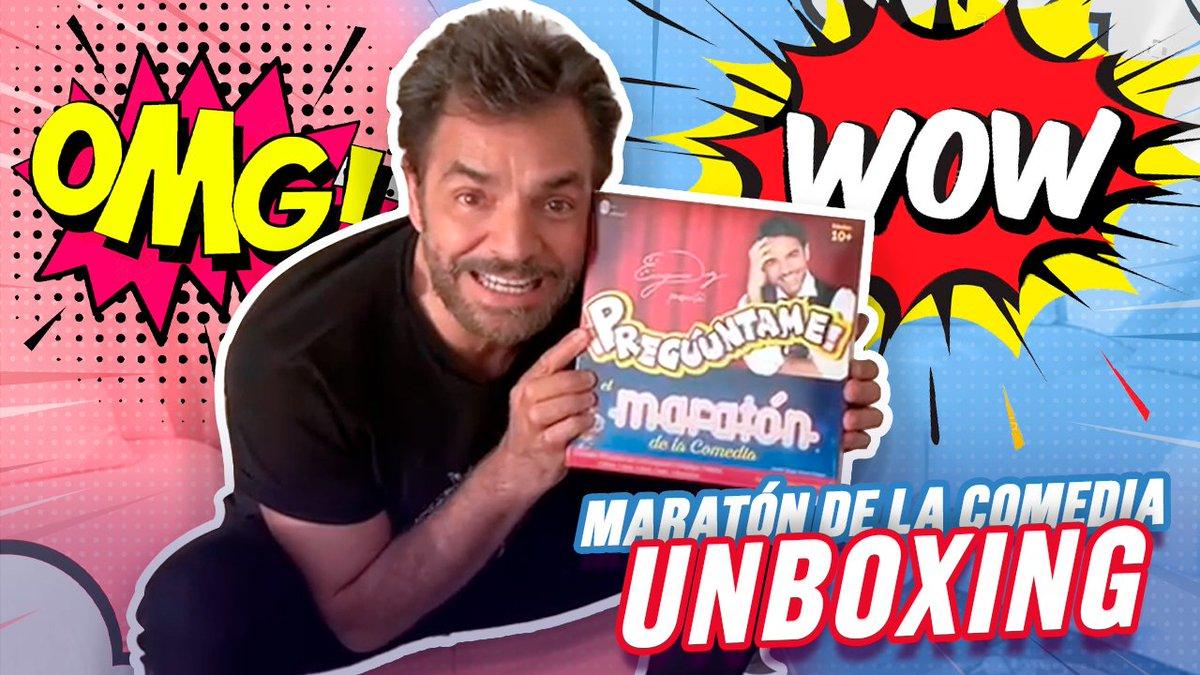 Unboxing - El Maratón De La Comedia 👇🏻 https://t.co/HqtxrDWW92 👀👀👀 https://t.co/846Dj7gV1O