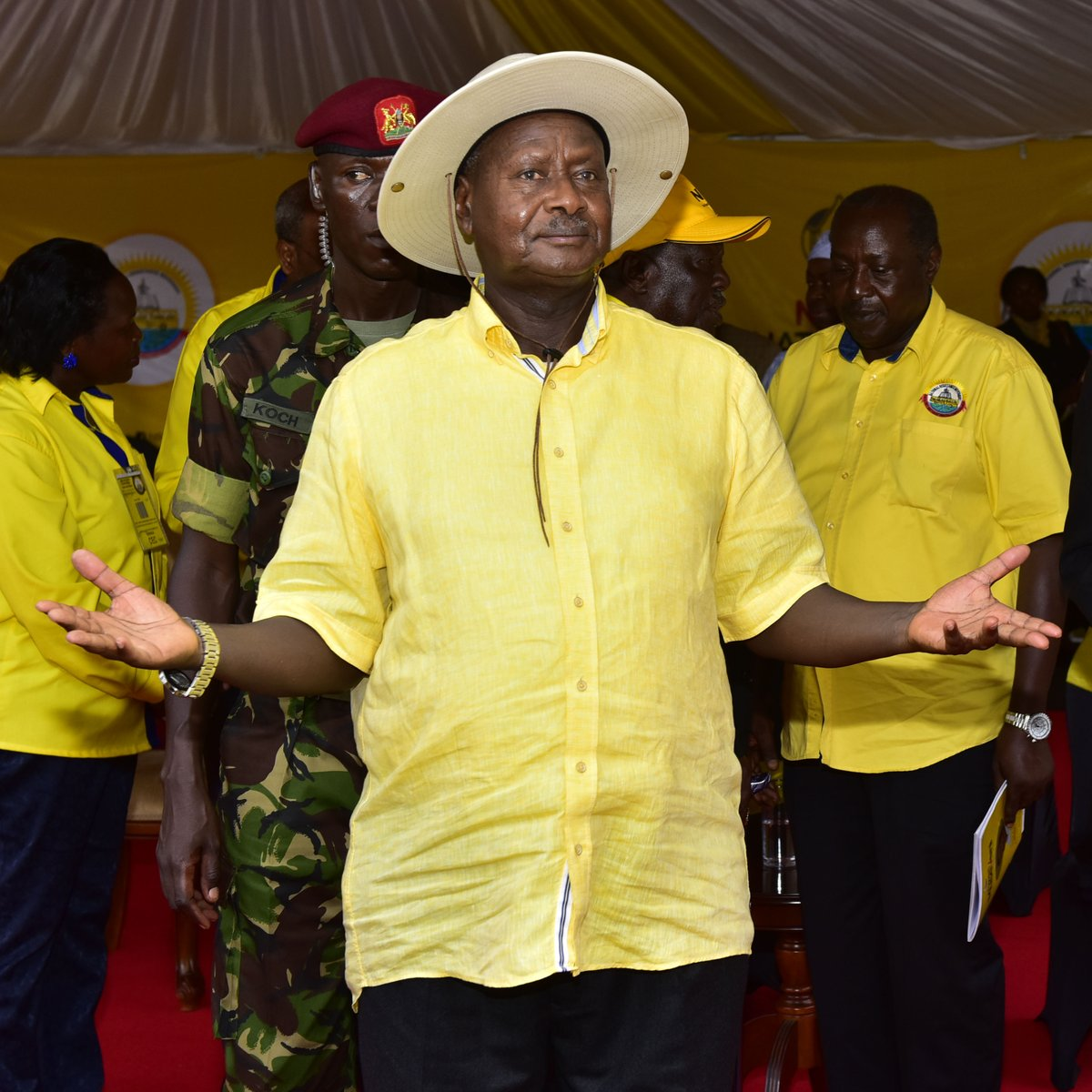 NRM came from the old political parties which were based on religion and tribe. We sensed a problem of that path and decided to form NRM that focused on people's needs. What does your religion or tribe have to do with roads or electricity?