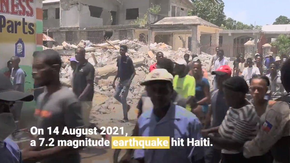 Today marks one month since #earthquakehaiti. @EnvironmentOcha is on the frontline to support the government-led #response. Here is what we have been doing. You can help, too: https://t.co/l6Ig4EtNYL @UNEP @UNOCHA