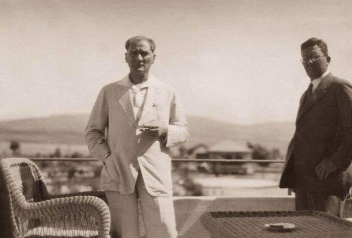 14 Temmuz 1929. Atatürk, Gazi Orman Çiftliği'nde.