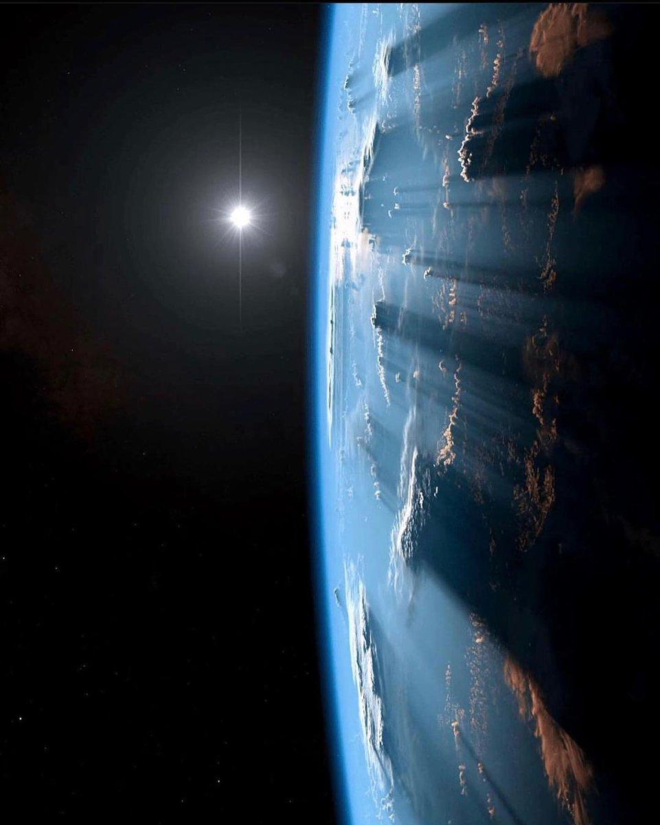 Güneş'in uzaydan görünüşü..