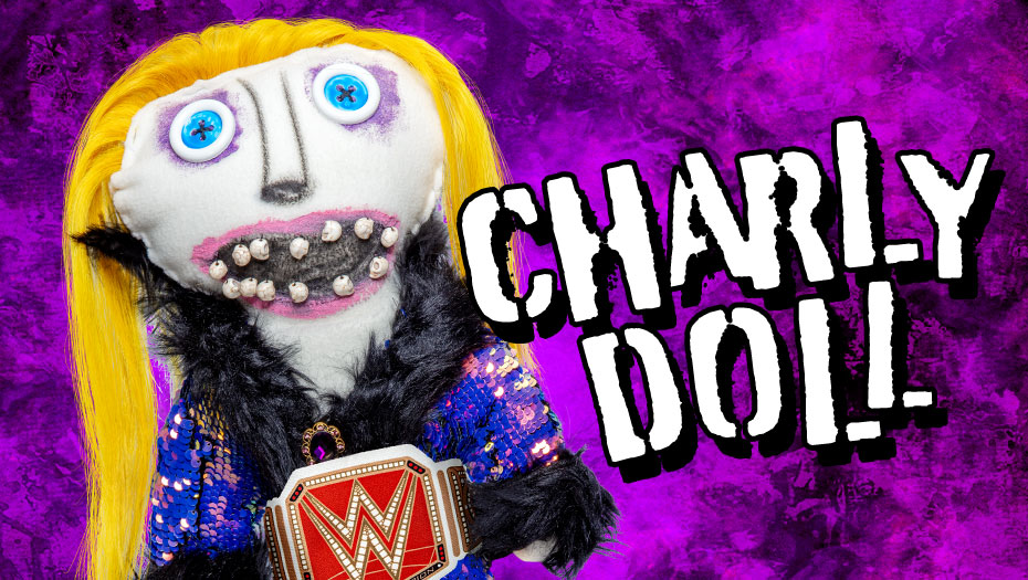 """WWE Selling """"Charly"""" Doll"""