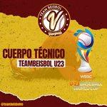 Image for the Tweet beginning: ¡PLAYBALL! 🇻🇪⚾ • Nuestro cuerpo técnico en