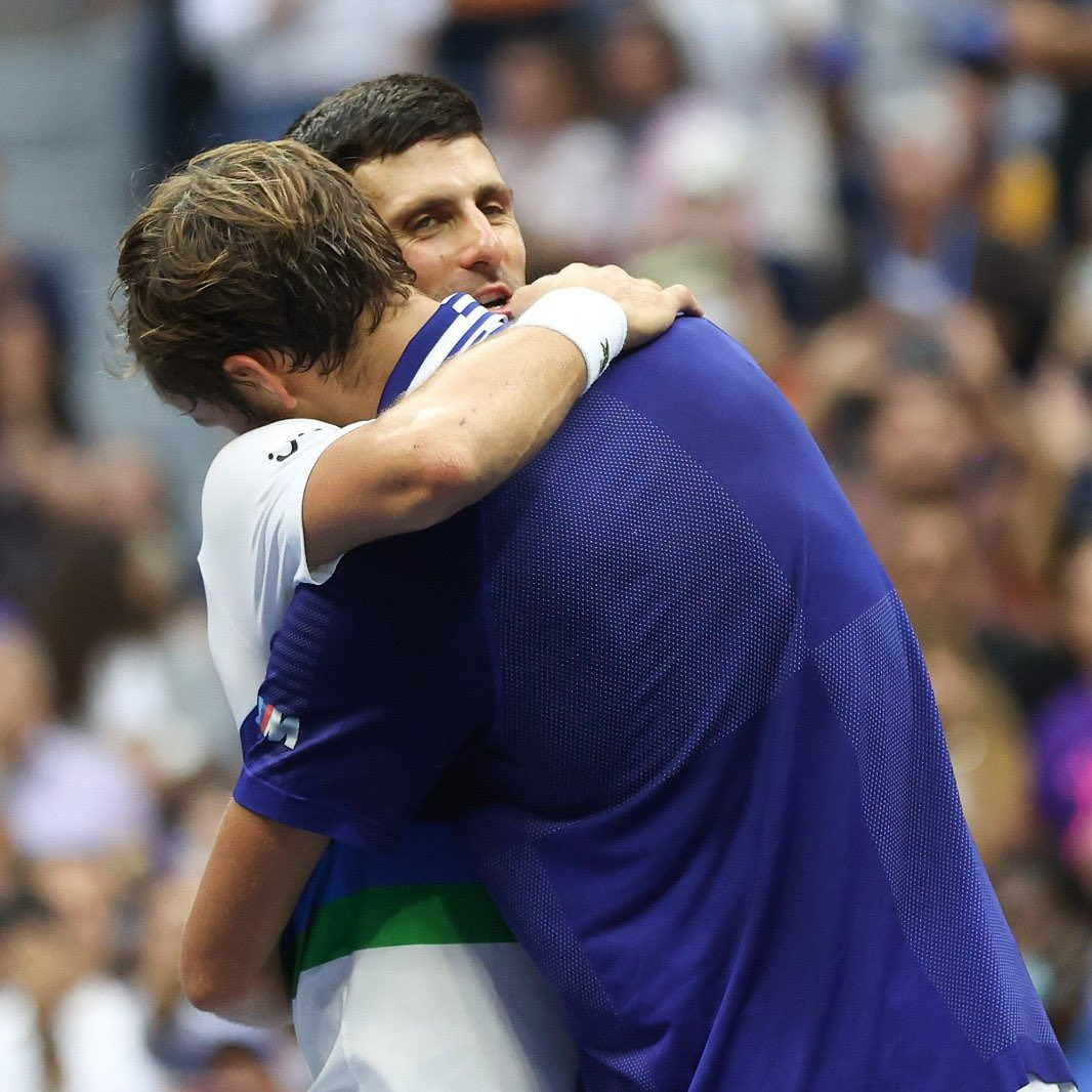 Respect for this champion! @DjokerNole