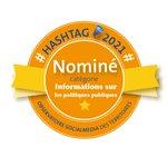 Image for the Tweet beginning: 🏆 #Hashtags2021 Les nominés dans