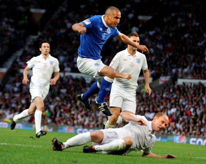 Air Larsson Happy birthday to our 2010 Soccer Aid for winner, Henrik Larsson