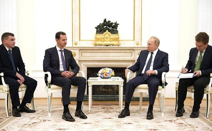 Владимиром Путиным Twitter