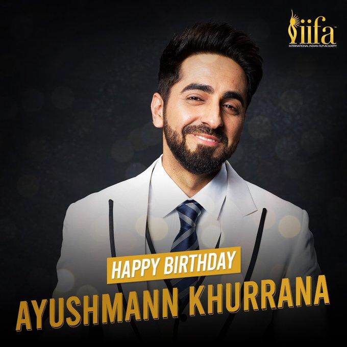 Happy birthday to you Favorite bollywood Actor Ayushmann khurrana