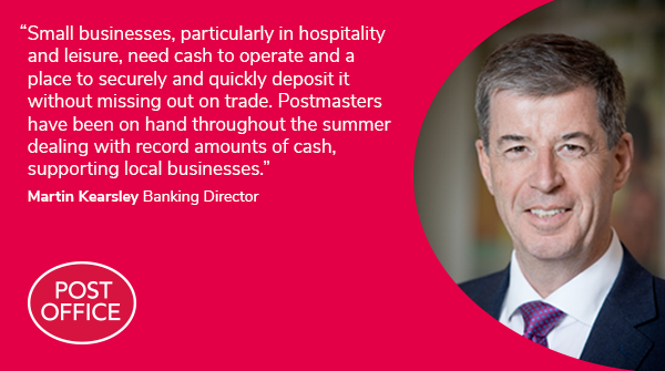 Our branches had the highest amount of business cash deposits all year last month with £1.03 billion deposited. In total a record £2.9 billion worth of cash was deposited and withdrawn by business and personal customers in a single month. See our release https://t.co/loXwDuYlBc https://t.co/u2zFsmXy7g