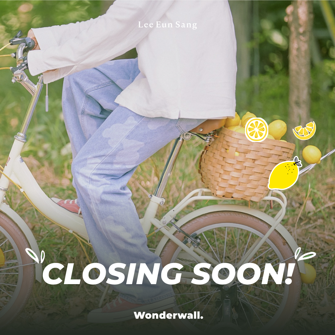 [@LES_BNM X Wonderwall.] Lee Eunsang🍋 2ND VIDEO CALL EVENT CLOSING SOON!!! How to meet with Lemon-Fresh Eunsang! 1. Buy you album on Wonderwall's site 2. Get the unreleased photocard Exclusively at Wonderwall. 📆 ~9/18 23:59 (KST) ❤ bit.ly/2XaKKaQ