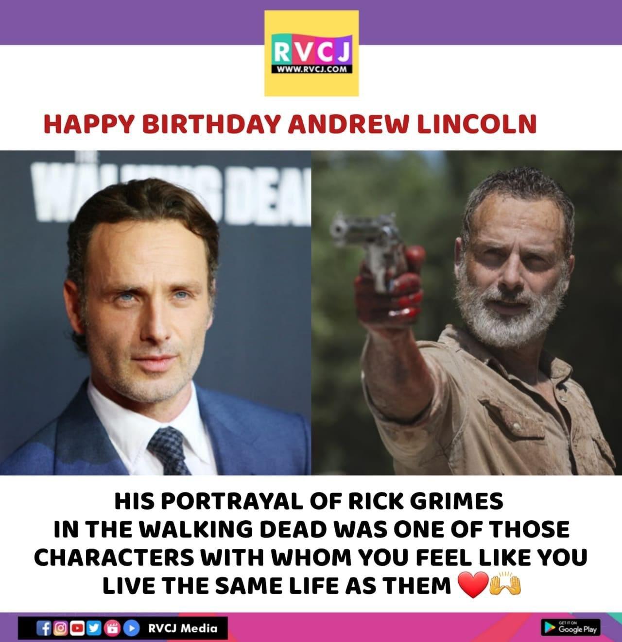 Happy Birthday Andrew Lincoln!