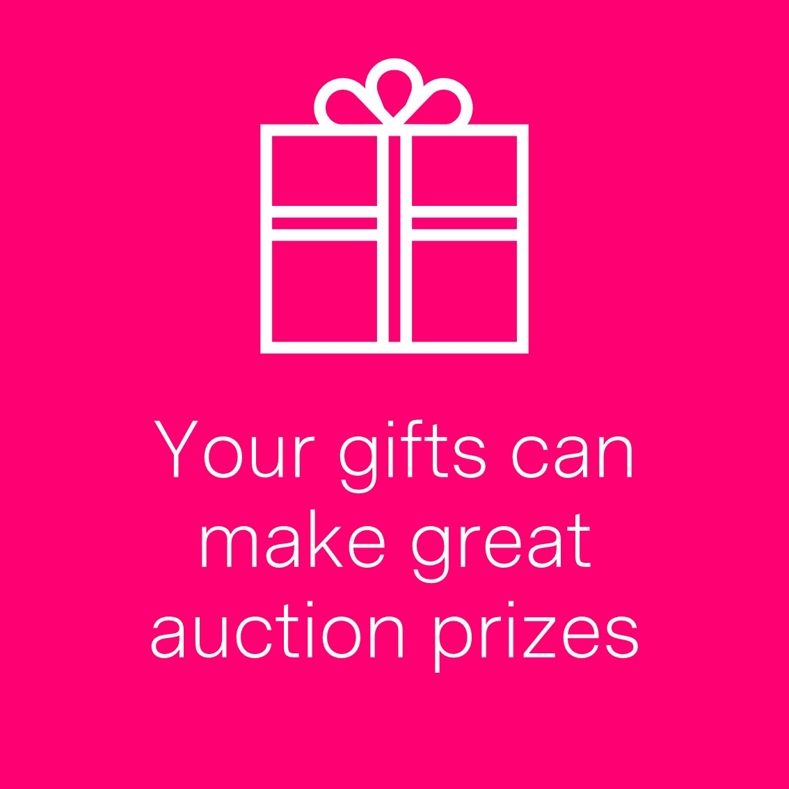 Watch this space, we'll soon be launching our bonanza birthday silent auction offering lots of fab prizes for you to bid on. You can also help make the auction a success by donating a gift for us to include in the prize list. Contact aberdeenfundrasing@maggiescentres.org