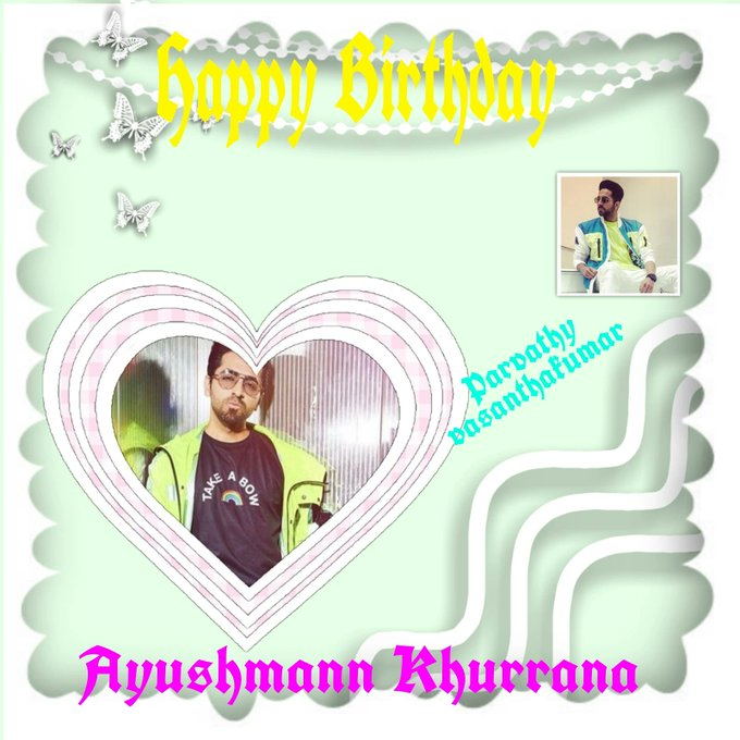 Happy Birthday Ayushmann Khurrana