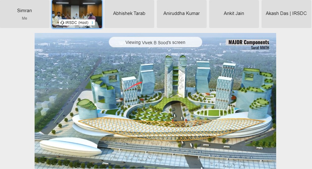 Redevelopment of Surat, Udhna, Udaipur railway stations: 14 firms participate in pre-bid meet