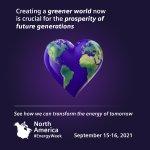 Image for the Tweet beginning: North America #EnergyWeek is almost