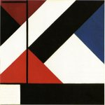 Simultaneous Counter composition #neoplasticism #theovandoesburg