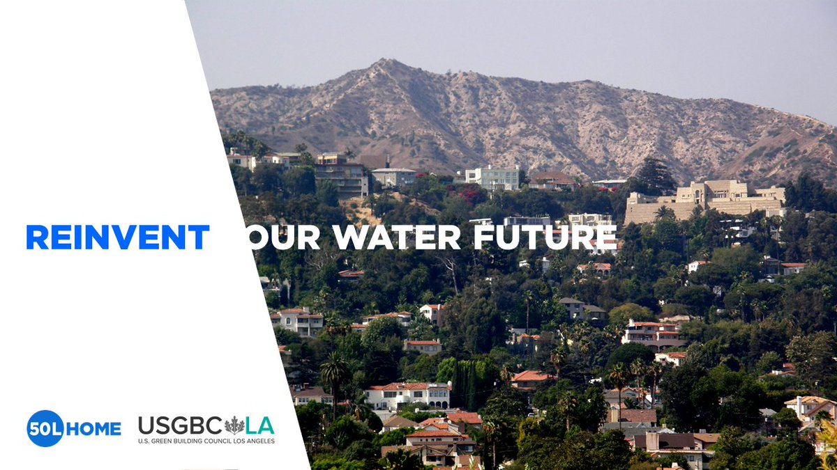Welcome @USGBCLA to the @50LHome Coalition, of which @2030wrg is a founding member! Looking forward to collaborating on innovation and policy developments that will reinvent the future of water use. More water and energy efficient homes at 50L/day/ person can feel like 500L! https://t.co/mBSfvy5K6u