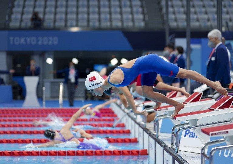 2020 Tokyo Paralimpik Oyunları yüzmede kadınlar 50 metre sırtüstü S5 kategorisinde  bronz madalya alarak Türkiye'ye bu branşta tarihinin ilk madalyasını kazandıran Sevilay Öztürk'ü tebrik ediyoruz. @alibabacan @devapartisi @Tokyo2020 @devakadinda @aliguven_06 @fundaozer06
